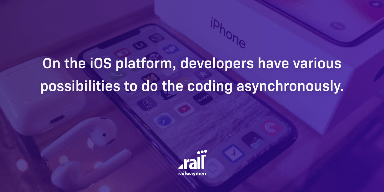 The best tech article of 2020  -  Asynchronous Programming With Swift