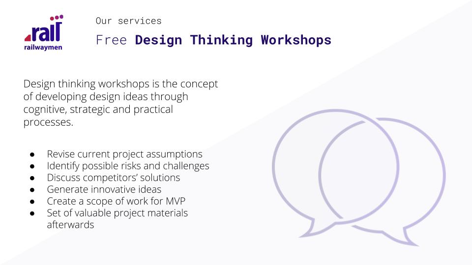 App development cost estimation  - Free Design Thinking Workshops
