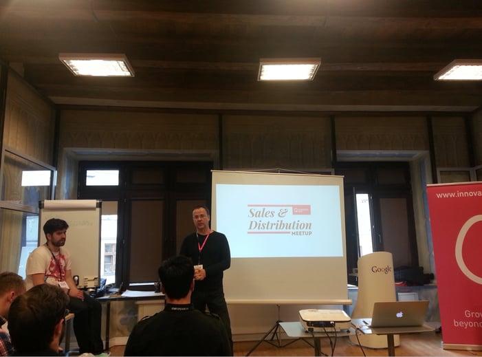 meetup innovation nest railwaymen startup