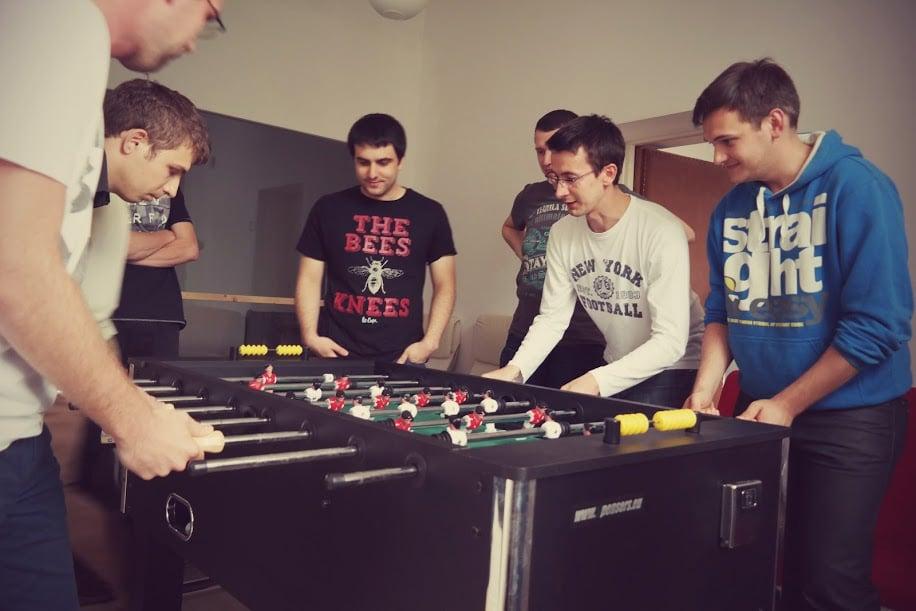 soccer game railwaymen