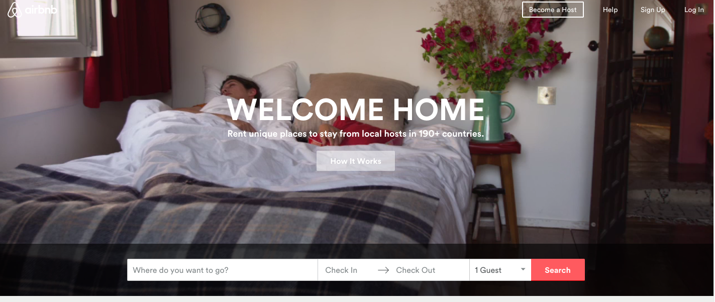 Projects based on Ruby on Rails - AirBnB