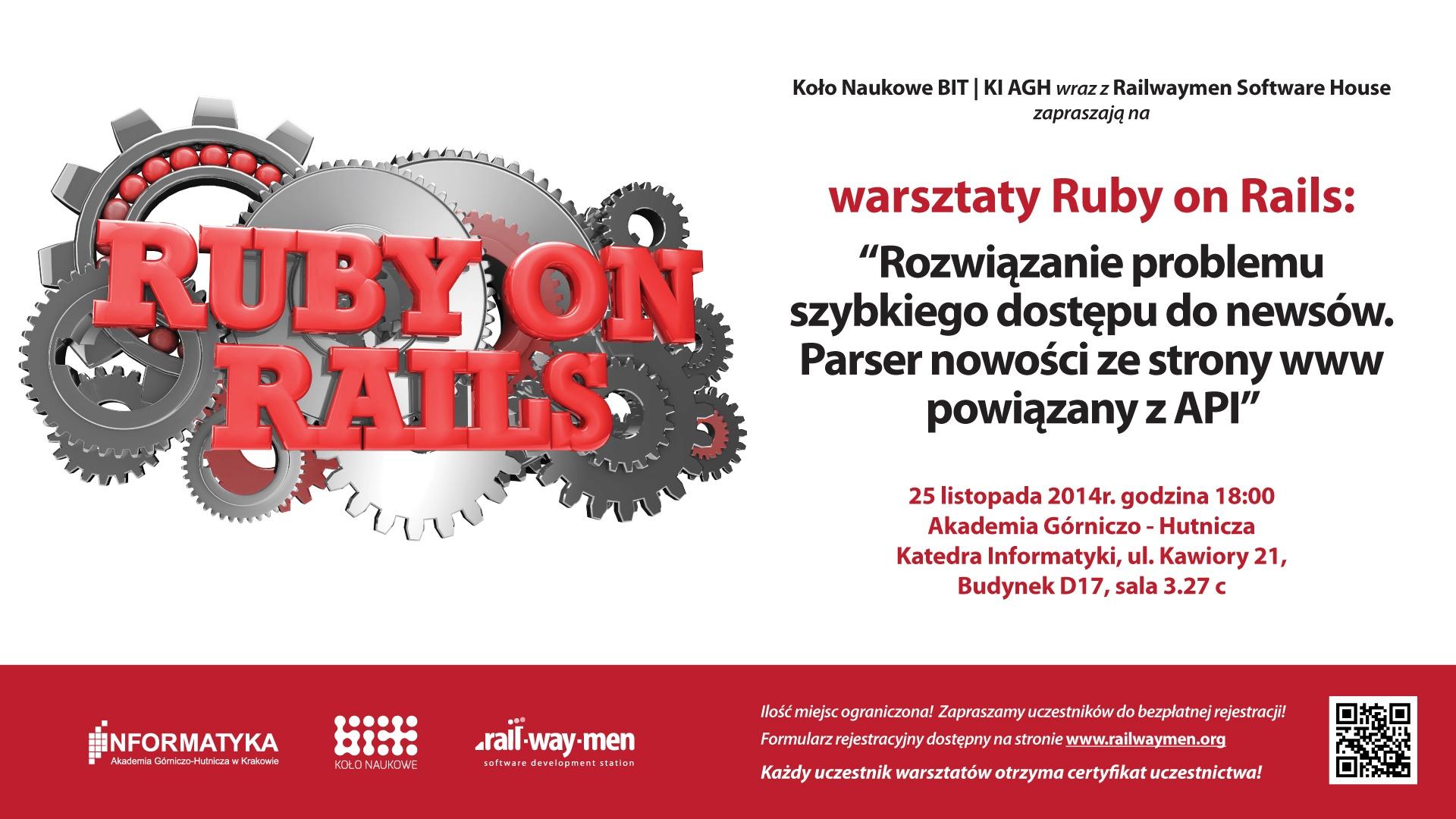 workshops ruby on rails AGH Railwaymen