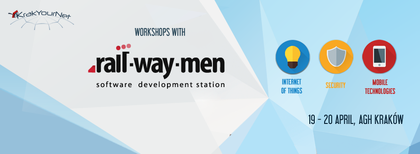 workshops KrakYourNet Railwaymen