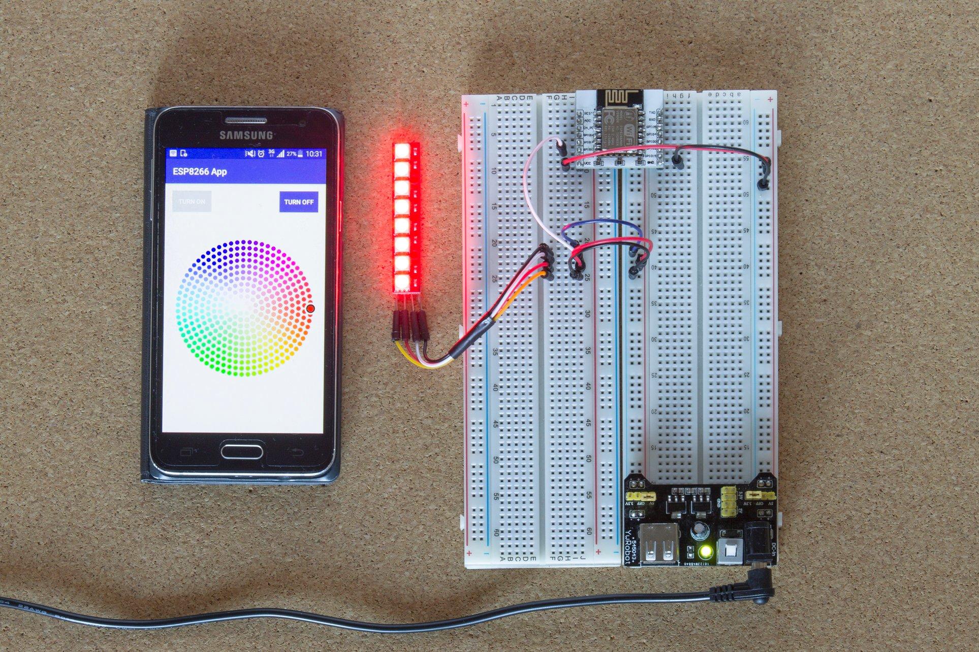 ESP8266 Build your own light module