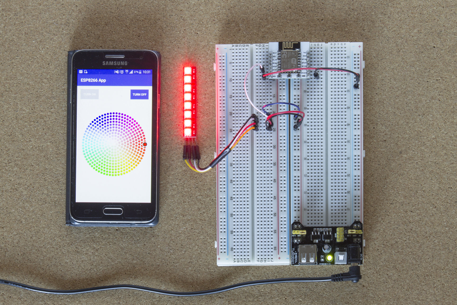ESP8266 Build your own light module