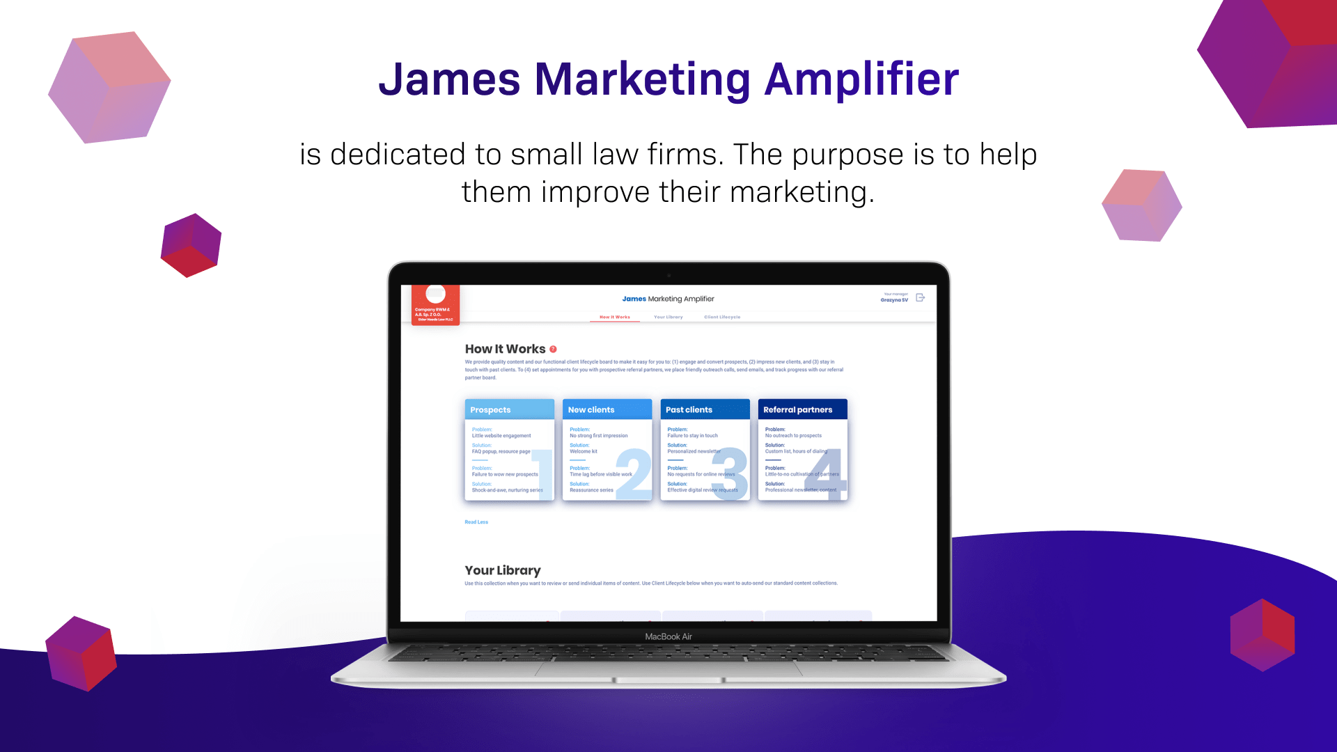 Case Study: James Marketing Amplifier