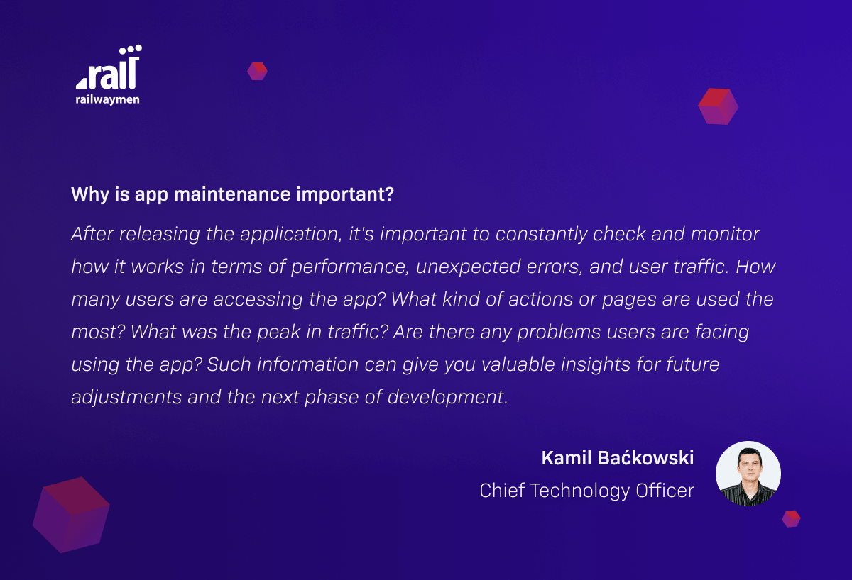 Why is Application Maintenance Important?