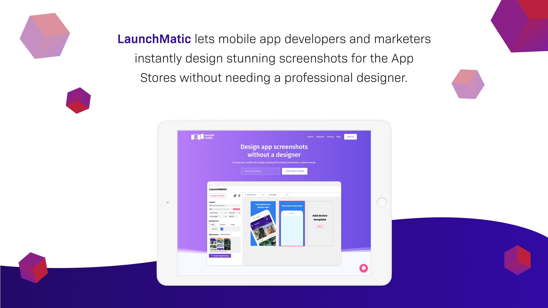 Ruby on Rails web application - Launchmatic