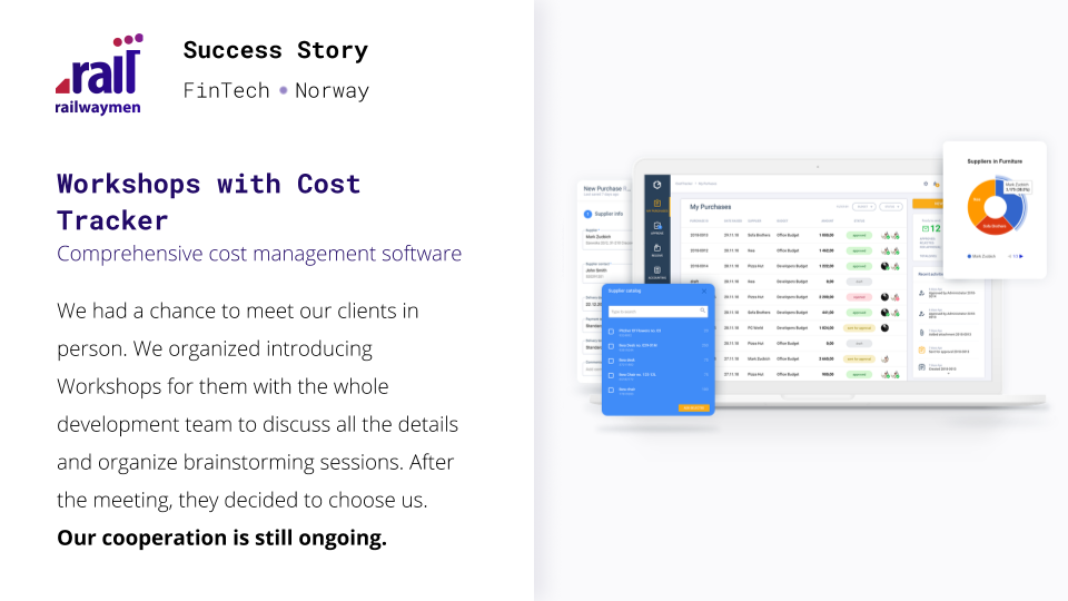 Why do you need a Discovery Phase? Success Story - Cost Tracker
