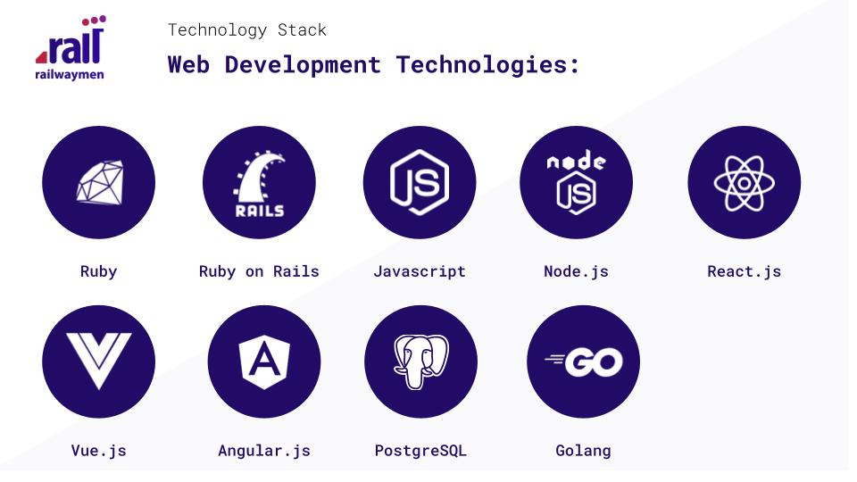 Railwaymen - Web Development