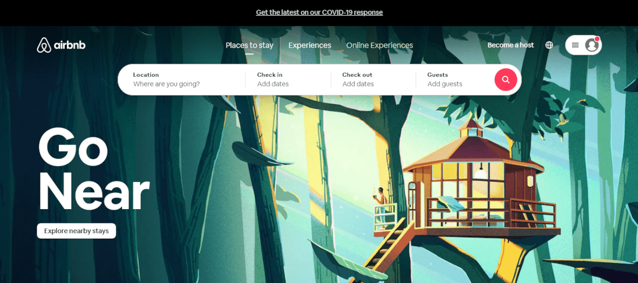 Ruby on Rails examples - Airbnb web application