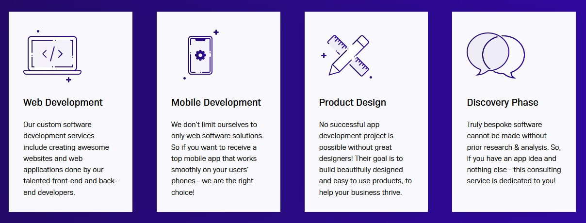 Our Mobile and Web Development Services