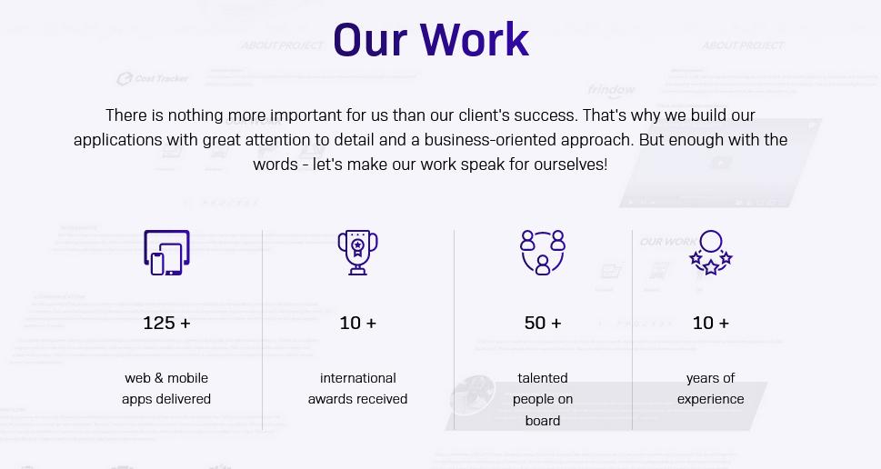 Our achievements as a custom software development company