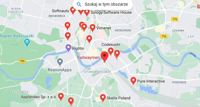App development companies in Kraków, Poland